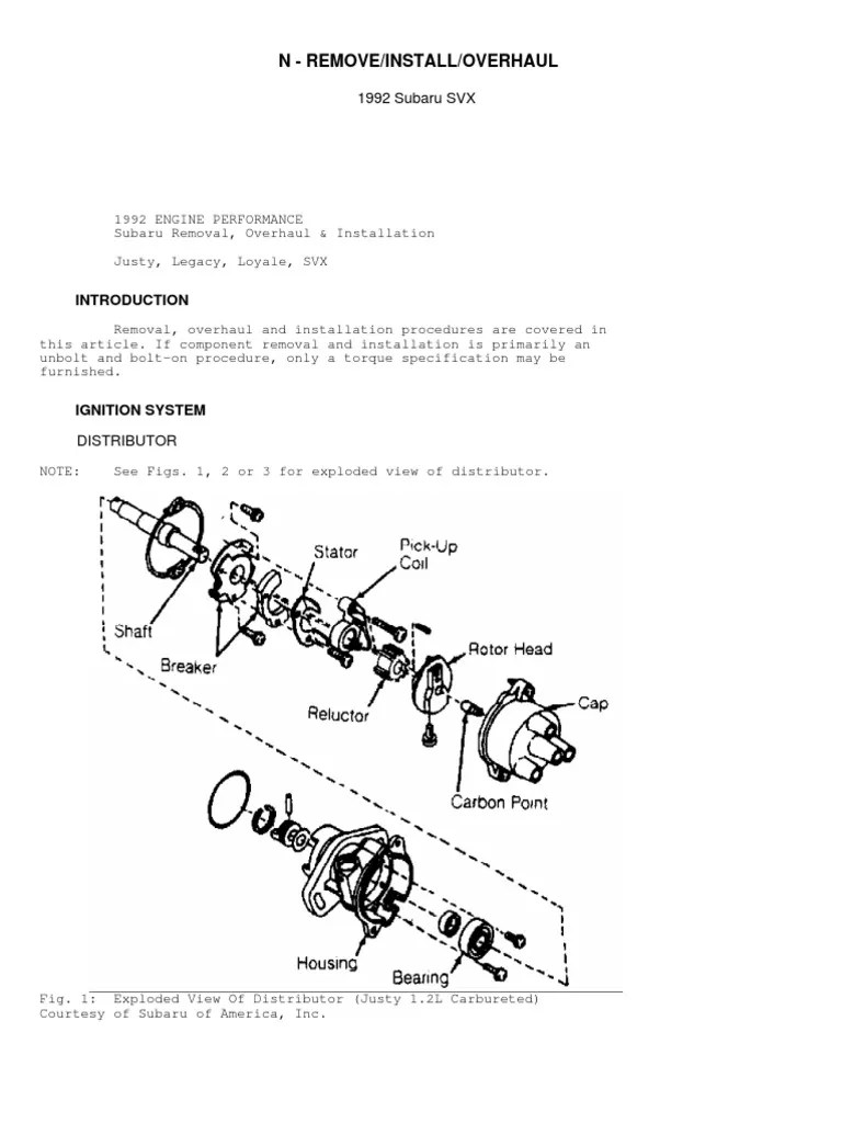 small resolution of 1992 subaru loyale engine diagram