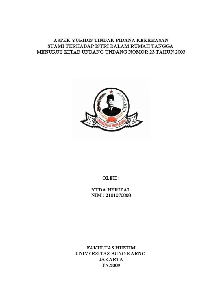 Contoh Proposal Skripsi Hukum Perdata Ebook Download Cute766