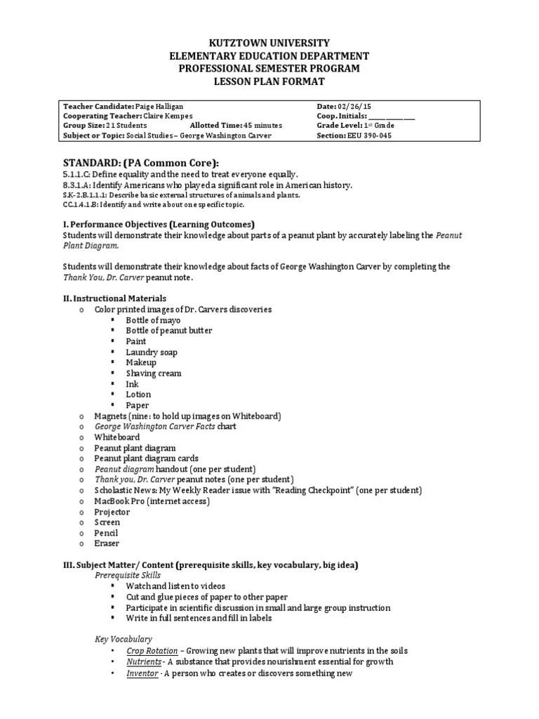 medium resolution of george washington carver lesson plan   Crop Rotation   Learning