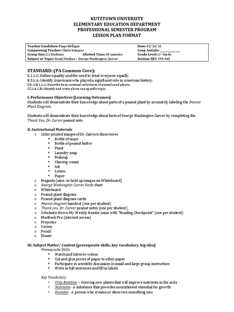 small resolution of george washington carver lesson plan   Crop Rotation   Learning