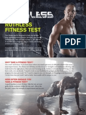 Fitness Test Physical Fitness Sports
