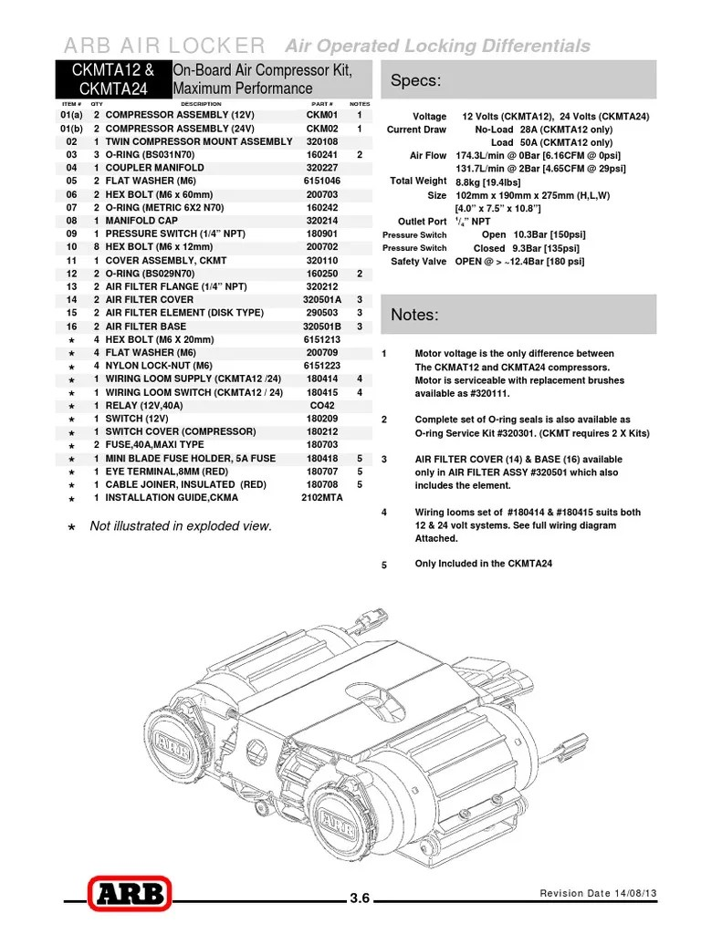 Arb Locker Wiring Diagram. . Wiring Diagram on