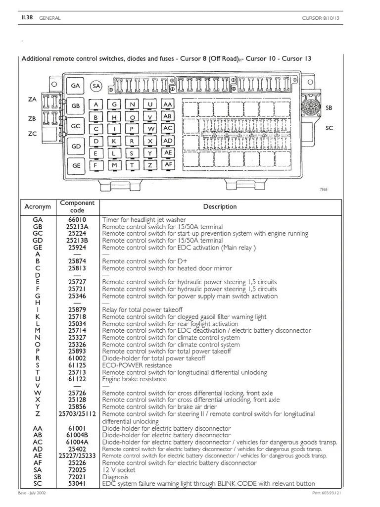 hight resolution of iveco euro trakker star tech electrical repair manual 1 switch anti lock braking system
