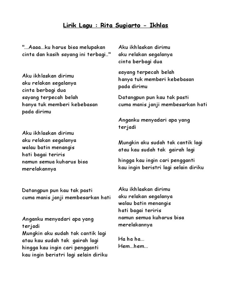Lirik Lagu Cintai Aku Karena Allah : lirik, cintai, karena, allah, Lirik, Lagua