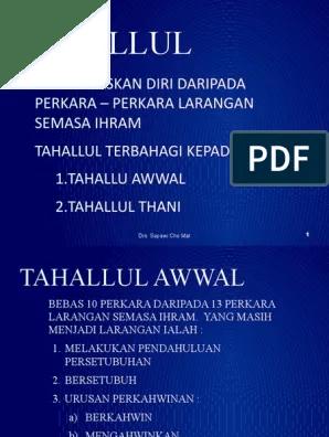 Pengertian Tahallul : pengertian, tahallul, TAHALLUL