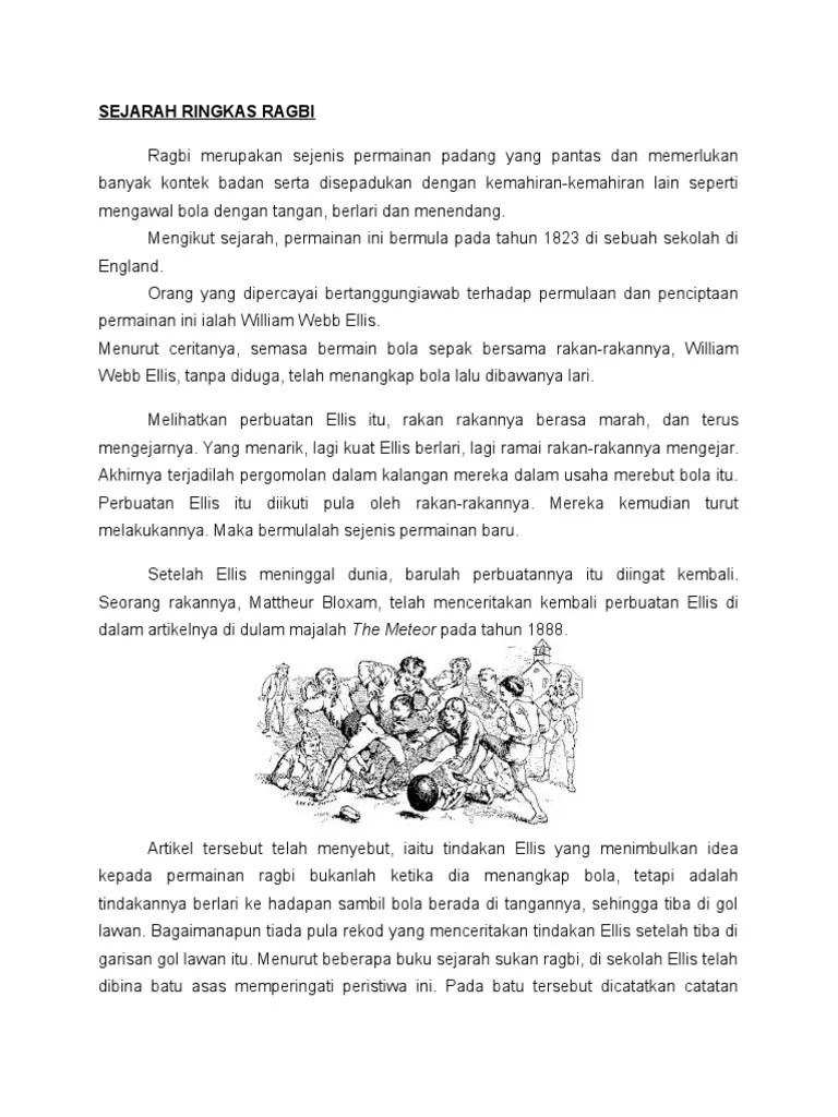 Asal Usul Sukan Ragbi - The Patriots
