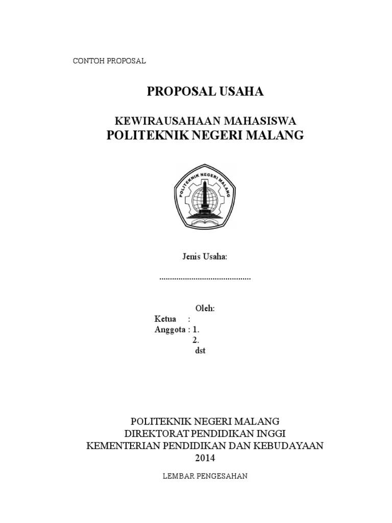 Contoh Proposal Kewirausahaan Mahasiswa : contoh, proposal, kewirausahaan, mahasiswa, CONTOH, PROPOSAL, Kewirausahaan, Mahasiswa, Tahun