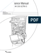 Gambro AK 96® Dialysis Machine Operator's Manual