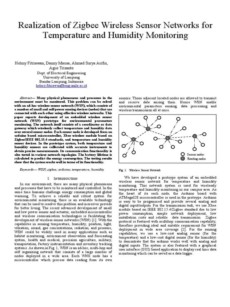 realization of zigbee wireless sensor networks wireless sensor network network topology [ 768 x 1024 Pixel ]