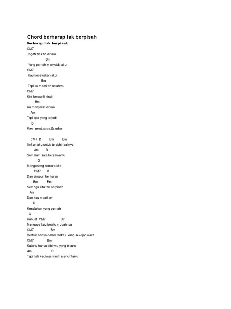 Lirik Lagu Remember Entertainment - Berharap Tak Berpisah