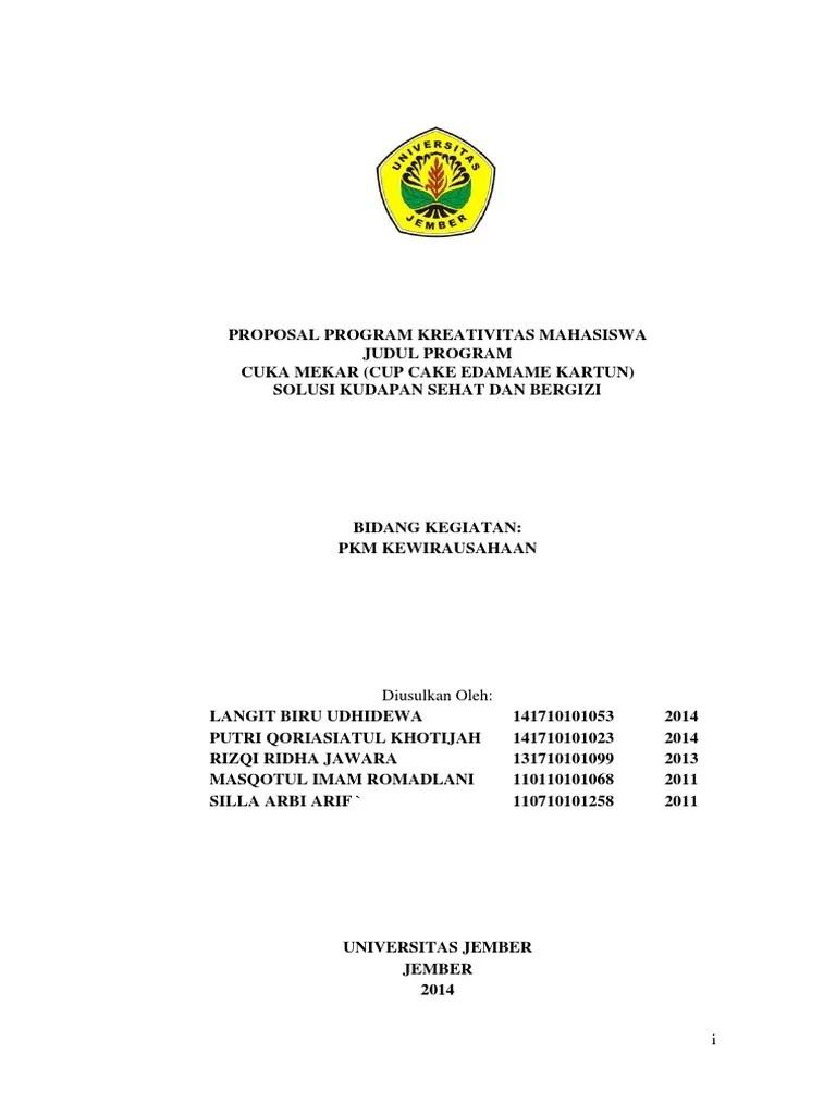 Contoh Proposal Kewirausahaan Mahasiswa : contoh, proposal, kewirausahaan, mahasiswa, Contoh, Proposal, Seminar, Kewirausahaan, Mahasiswa, Fasrfood