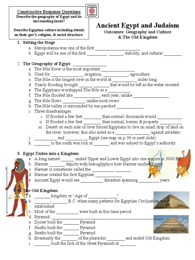 medium resolution of ancient egypt \u0026 judaism guided notes   Ancient Egypt   Egyptian Pyramids