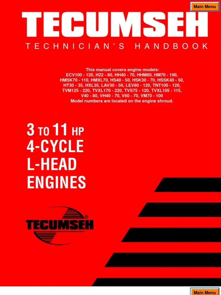 medium resolution of tecumseh engine ignition wiring diagram