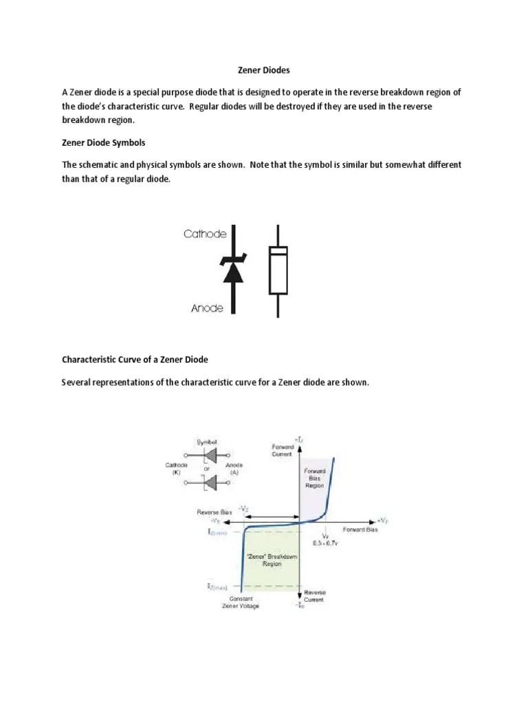 circuit diagram zener diode characteristic [ 768 x 1024 Pixel ]