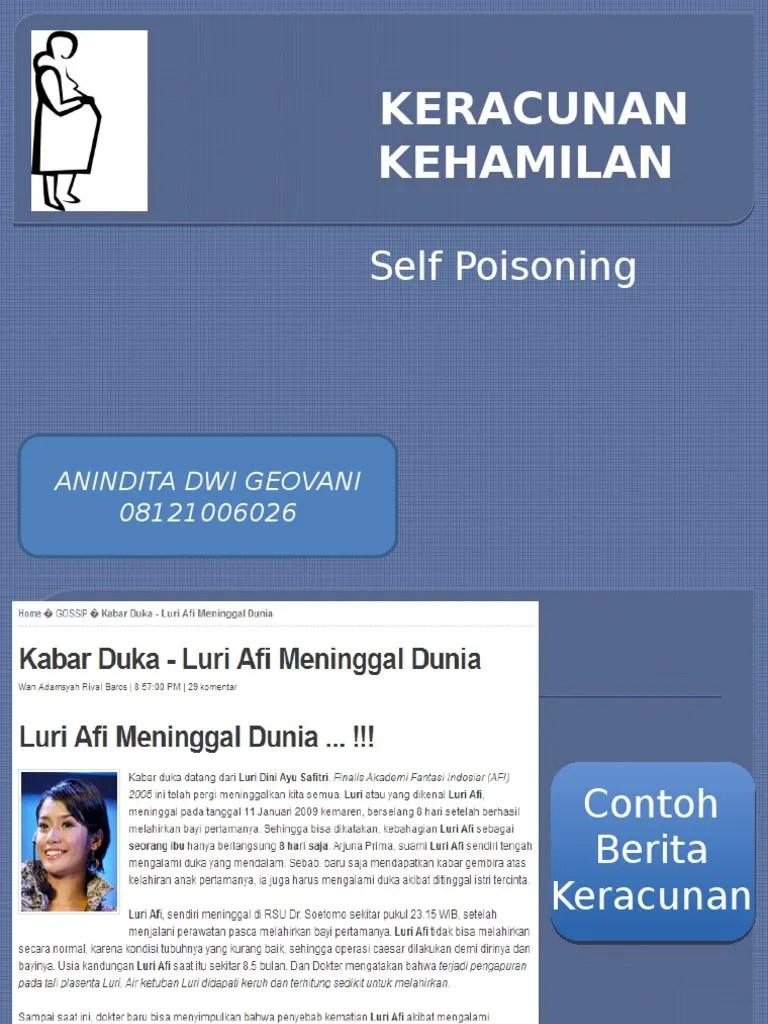 Penyebab Pengapuran Plasenta : penyebab, pengapuran, plasenta, Anindita, 08121006026, Toksikologi