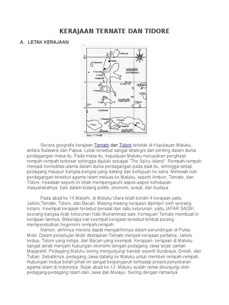 Letak Kerajaan Ternate : letak, kerajaan, ternate, Kerajaan, Ternate, Tidore