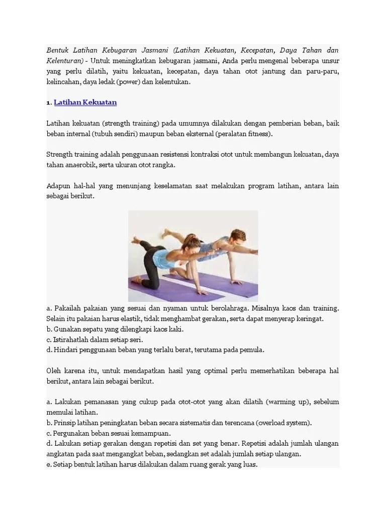 Untuk Melatih Daya Tahan Otot Jantung Dan Paru-paru Dapat Dilakukan Latihan : untuk, melatih, tahan, jantung, paru-paru, dapat, dilakukan, latihan, Bentuk, Latihan, Kebugaran, Jasmani