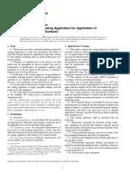 ASTM D4752-03 Measuring MEK Resistance of Ethyl Silicate