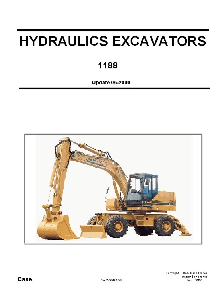 hight resolution of case hydraulics excavators 1188 shop manual tire bearing mechanical