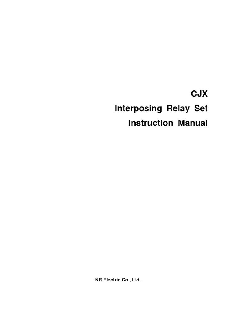 interposing relay wiring diagram [ 768 x 1024 Pixel ]