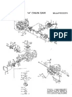 DOLMAR Parts Manual for Chainsaw Models: PS-460 PS-460 D