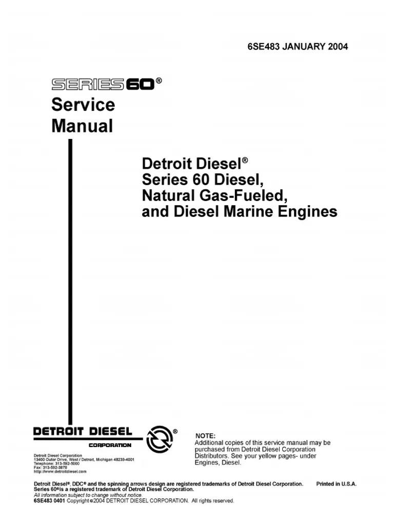medium resolution of 60 series detroit diesel wiring diagram