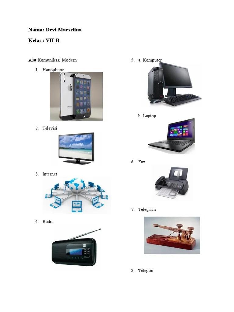 Alat Komunikasi Modern : komunikasi, modern, Komunikasi, Tradisional, Modern
