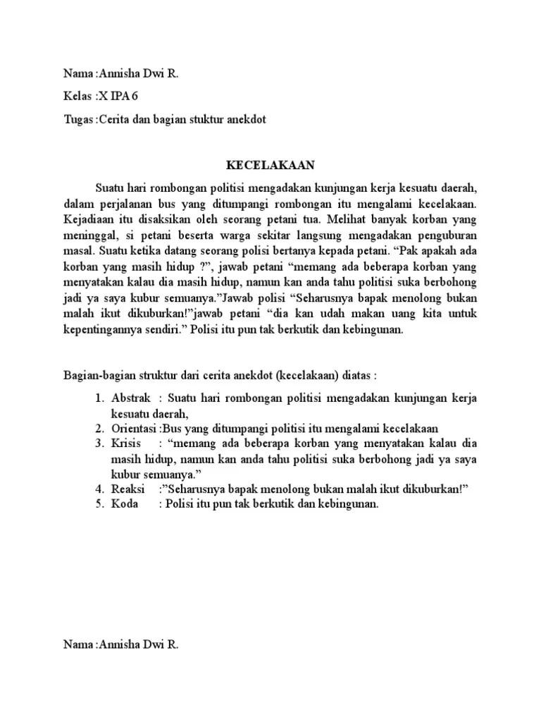 Puisi Anekdot Lucu Banget : puisi, anekdot, banget, Contoh, Anekdot, Tentang, Sekolah, Terbaru, Penulis, Cilik, Cute766