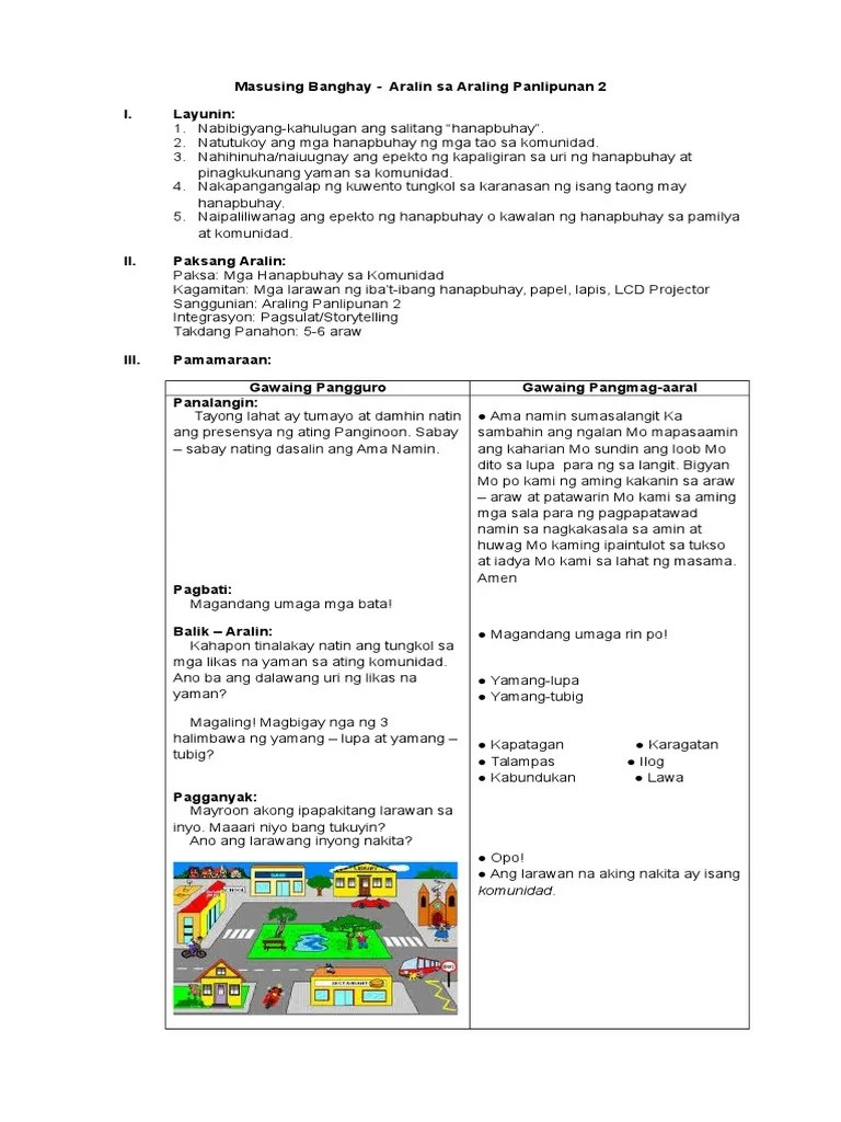 hight resolution of araling panlipunan 2