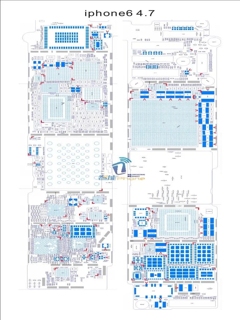 iphone 6 schematic diagram vietmobile vn pdf mobile computers consumer electronics [ 768 x 1024 Pixel ]