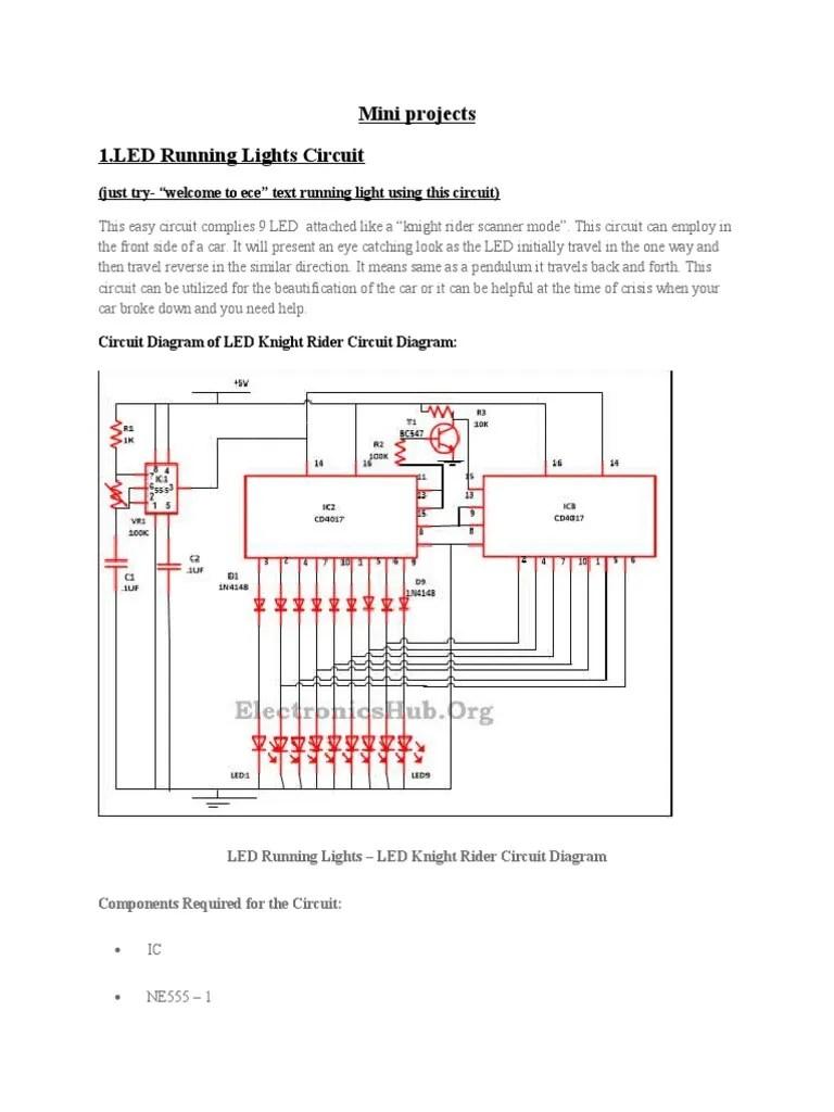 circuit diagram knight rider light [ 768 x 1024 Pixel ]