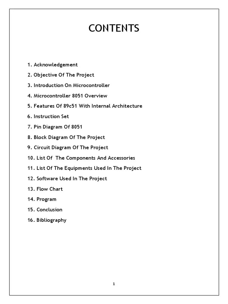 4 microcontroller project report 001 read only memory microcontroller [ 768 x 1024 Pixel ]