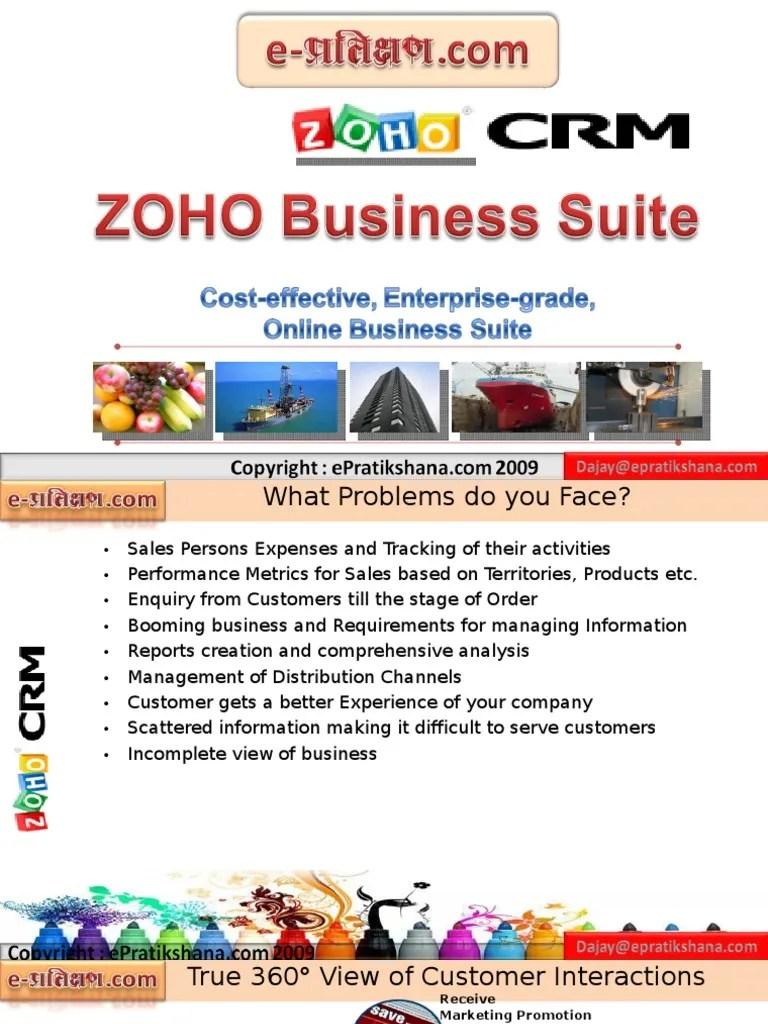 Epratikshana zoho crm flow chart electronic health record supply chain also rh scribd