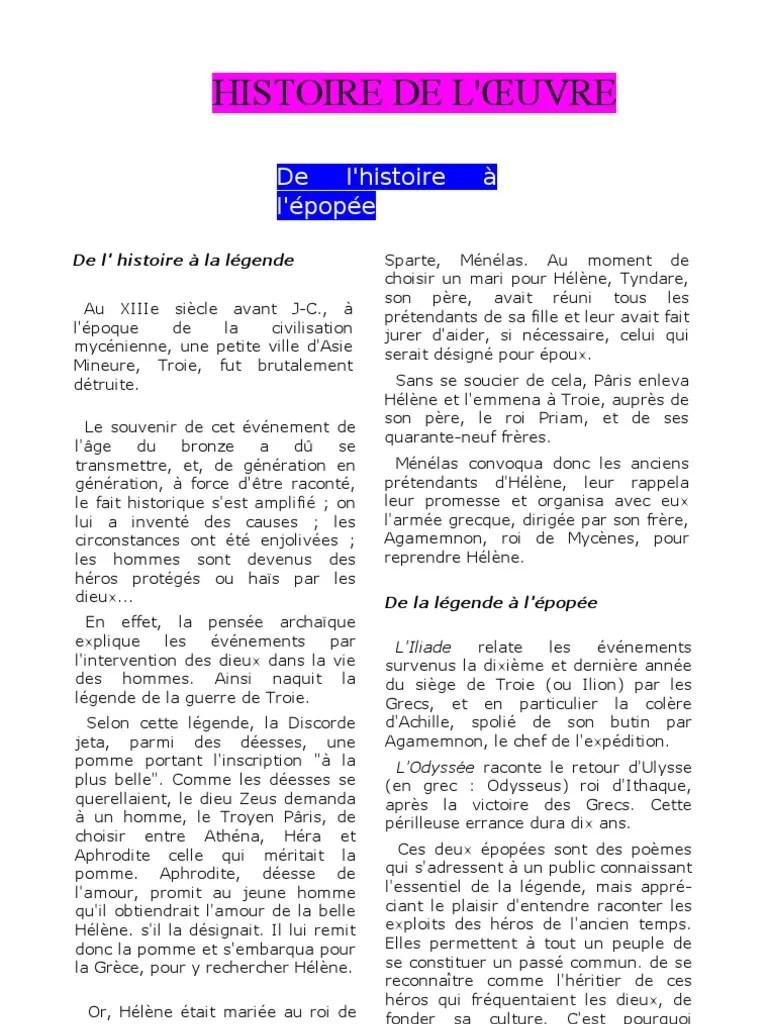 Résumé L Odyssée D Homère : résumé, odyssée, homère, L'Odyssée, Histoire, Résumé, Ulysse, Hélène, (mythologie)