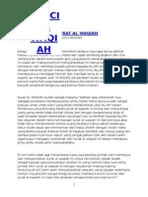 Kisah Nyata Pengamal Surat Al Waqiah : kisah, nyata, pengamal, surat, waqiah, Kisah, Nyata, Pengamal, Surat, Waqiah, Kumpulan, Contoh