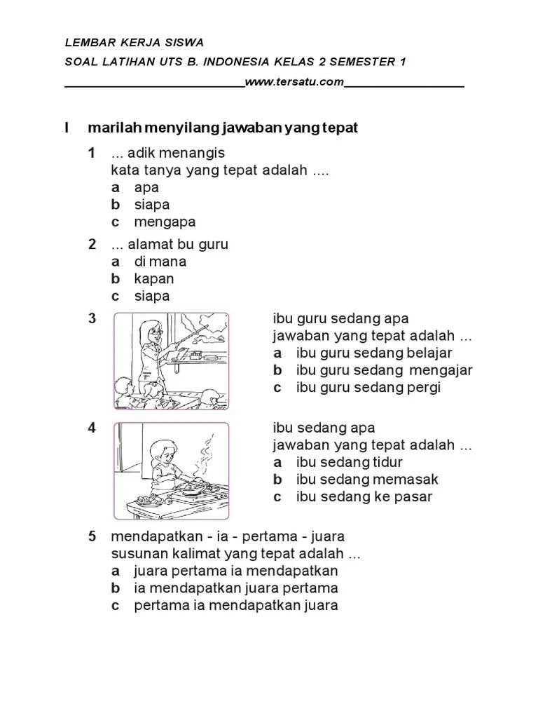 Soal Bahasa Indonesia Kelas 2 Semester 2 : bahasa, indonesia, kelas, semester, BAHASA, INDONESIA, KELAS, SEMESTER, 1.pdf