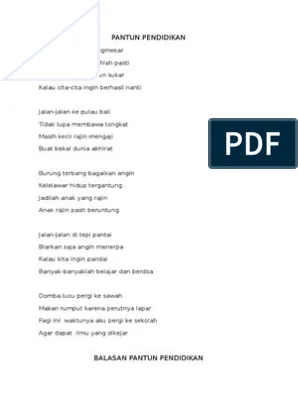 Pantun Bahasa Bali : pantun, bahasa, PANTUN, PENDIDIKAN