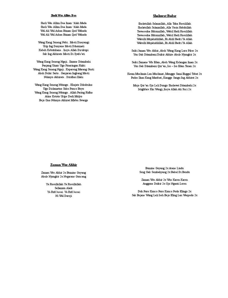 Download Mp3 Gratis Sholatullah Salamullah : download, gratis, sholatullah, salamullah, Sholawatan, Sholatullah, Salamullah, Lirik, Sholawat, Badar, Artinya, Dilengkapi, Tulisan, Latin, Salamullah,, Thoha, Rasulillahsholatullah, Yasin, Habibillahtawasalna, Bibismillah,, Bilhadi, Rasulillah,wa, Kulli