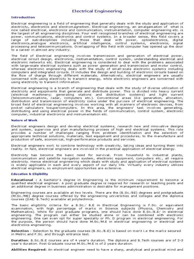 career in electrical engineering in pakistan job opportunities scope requirements career guidance in electrical engineering eduvision my career  [ 768 x 1024 Pixel ]