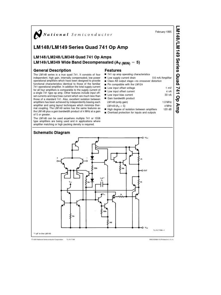 medium resolution of 741 pin diagram