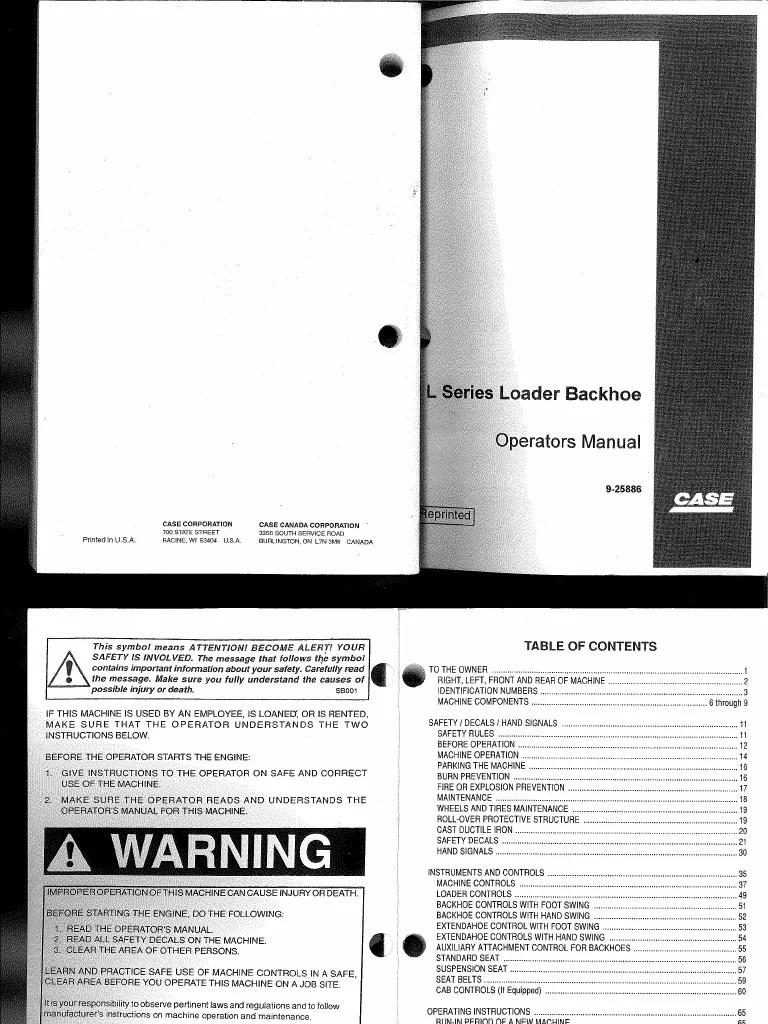 case backhoe 580 super e wiring diagram free download [ 768 x 1024 Pixel ]