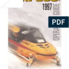 Electrical Wire Diagrams Rv Wiring Diagram Bombardier Skidoo 1998 99 Electric 1997 Operator S Manual