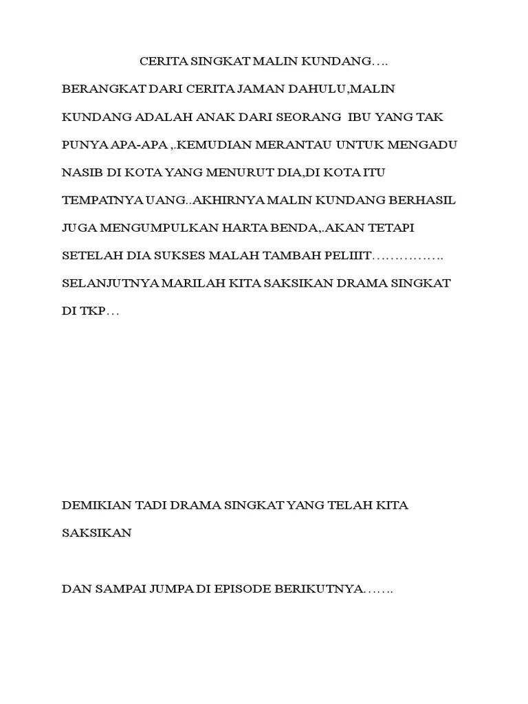 Cerita Malin Kundang Singkat : cerita, malin, kundang, singkat, Cerita, Singkat, Malin, Kundang