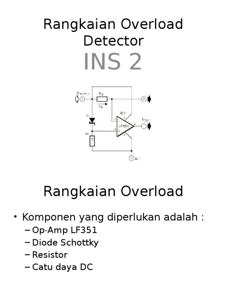 Schottky Diode Adalah : schottky, diode, adalah, Rangkaian, Overload, Detector.pptx