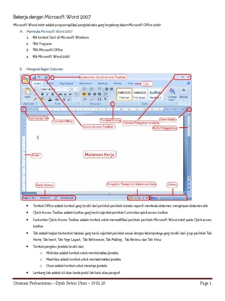 Bagian-bagian Microsoft Excel : bagian-bagian, microsoft, excel, Bagian, Lembar, Kerja, Microsoft, Seputar, Kerjaan