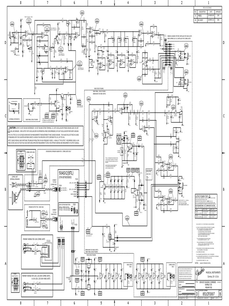 Adi Final Icepower 50asx2 Rumble 150 2010 Schematic Rev-B