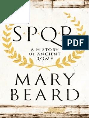 Pack De 5000 Romans Divers En Francais - Format Epub : romans, divers, francais, format, Beard-SPQR, History, Ancient, Cicero, Roman, Empire