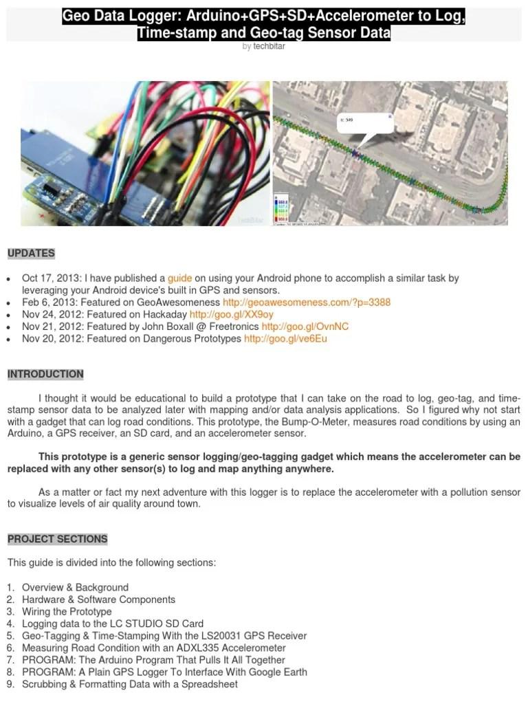 hight resolution of wiring a datum logger