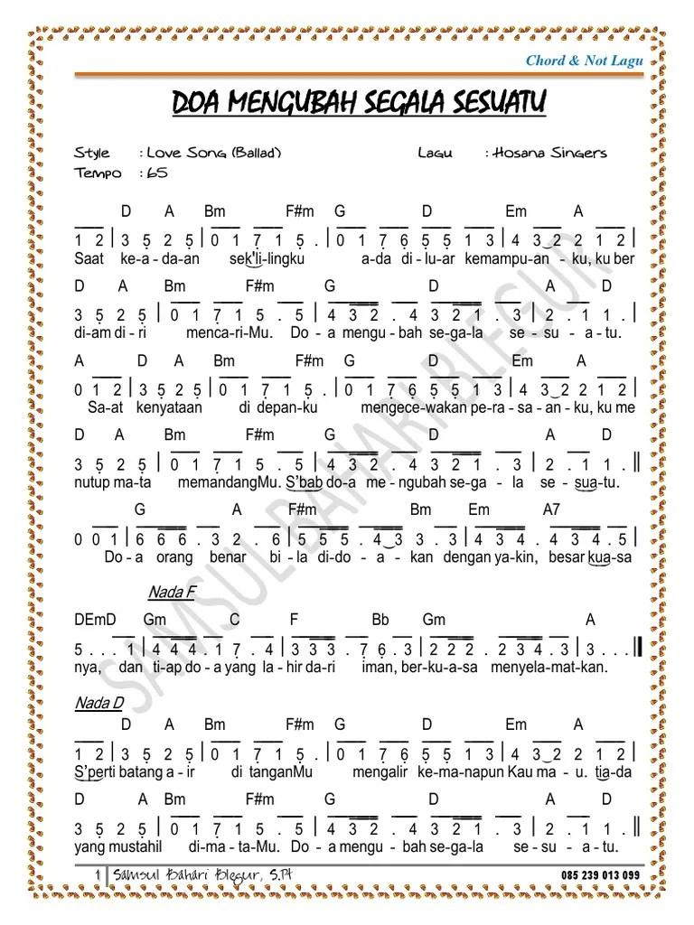 Karya Terbesar Chord : karya, terbesar, chord, Mengubah, Segala, Sesuatu