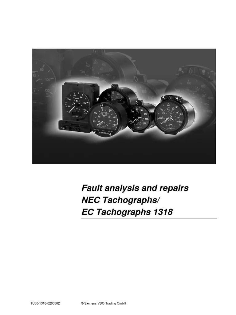 lucas kienzle tachograph wiring diagram 2001 bmw x5 4 vdo 1318 library tu00 0200302 electrical connector components